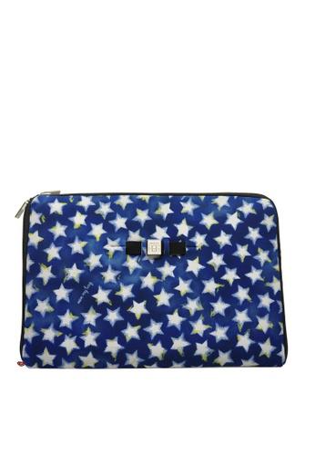 SAVE MY BAG blue and multi URBAN LAPTOP STARS 62621ACB81052EGS_1