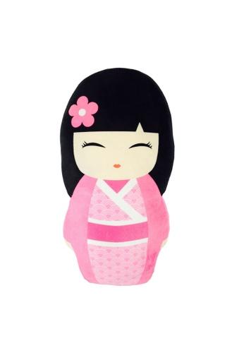 ROY & BIV pink Keshi Pillow          RO781AC13WAWPH_1
