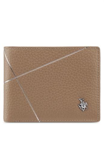 Swiss Polo beige Swiss Polo Bi-Fold Rfid Blocking Wallet EFF66ACE188179GS_1