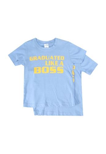 UniqTee blue Graduated Tee 2-Pack 921C8KAEEA193DGS_1