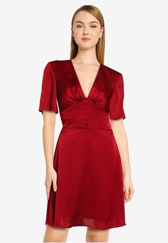 CHI CHI LONDON red Chi Chi Sonoma Dress 3AB75AA038715BGS_1