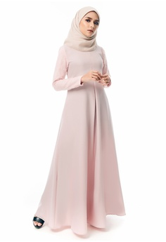 106dde35fba Imaan Boutique pink Qaseh Dress Scallop EF8E2AAF43641AGS 1