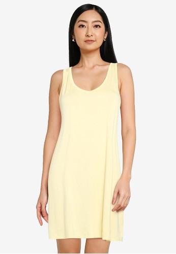 Gap yellow Rayon Swing Dress 2CA09AA9E6EFB3GS_1