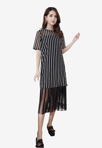 Lara black 3-Piece Set Dress E0B37AA6342C30GS_1
