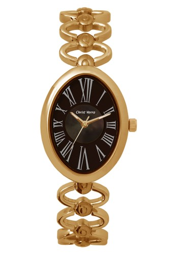 Christ Verra gold Fashion Women's Watches CV 31738L-15 MOP BRN C44EAACFF43DA7GS_1
