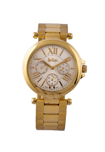 Lee Cooper Watches. {moment Watch} Lee Cooper-LC-22L-B Jam Tangan Wanita-stainlles Steel-gold