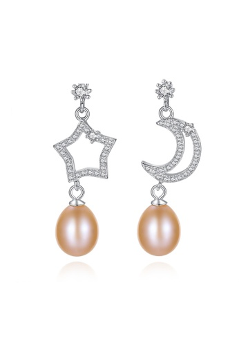 A.Excellence pink Premium Pink Pearl Elegant Earring 3C8E1ACD442BBDGS_1