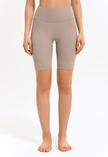 HAPPY FRIDAYS Women's tight Running Shorts (No front crotch  line) DSG93 6F3BCAA5433A27GS_1