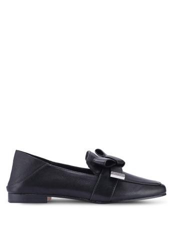 ALDO 黑色 蝴蝶結樂福鞋 81D79SH806CB1CGS_1