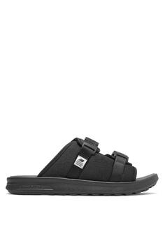 b40e21784 New Balance black 330 Lifestyle Sandals A7D1FSHD403517GS 1
