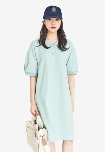 NAIN blue Casual Polo Dress C4841AAA8396D8GS_1