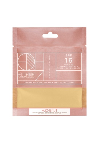 Ellana Mineral Cosmetics white Loose Mineral Foundation Refill Only - Hazelnut Latte EL322BE95PAYPH_1