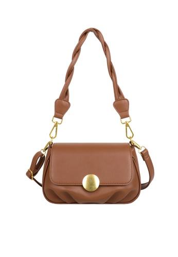 Twenty Eight Shoes Stylish Faux Leather Crossbody Bag DP0072 34824ACDF177BFGS_1