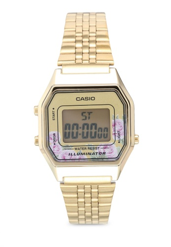 Casio gold Casio LA680WGA-4CDF Watch D683BACF9872DCGS_1