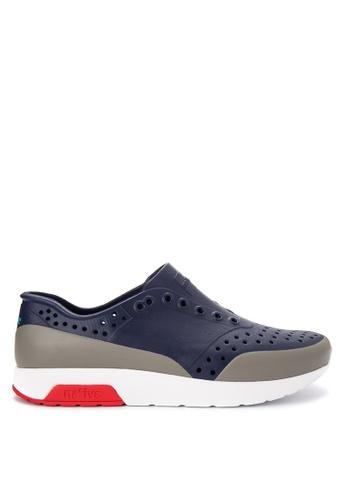 Native blue Lennox Block Sneakers NA764SH0JR6KPH_1