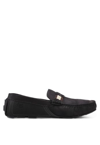 Louis Cuppers black Casual Loafers 19C73SH78CD18BGS_1