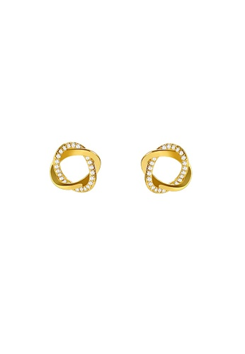 Glamorbit gold Gold Statement Earrings C87A8ACDD00EA6GS_1
