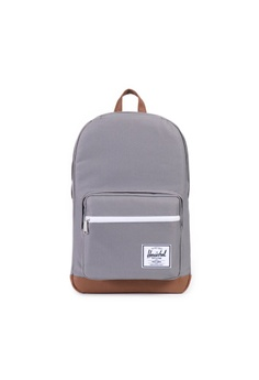 03c506beb458 Herschel grey Herschel Pop Quiz Grey Tan CCB81AC905F290GS 1