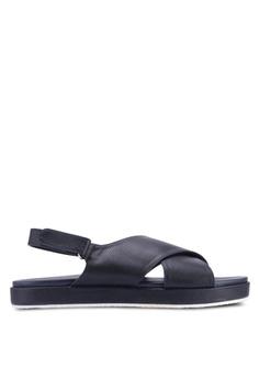 00112d98b7f6 VINCCI navy Sling Back Sandals CD97BSH2BE508AGS 1