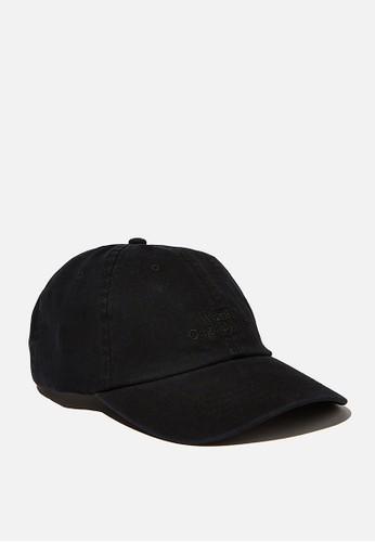 Jual Cotton On Strap Back Dad Hat Original | ZALORA Indonesia ®