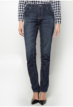 Fashion Jeans with Zipper Detail