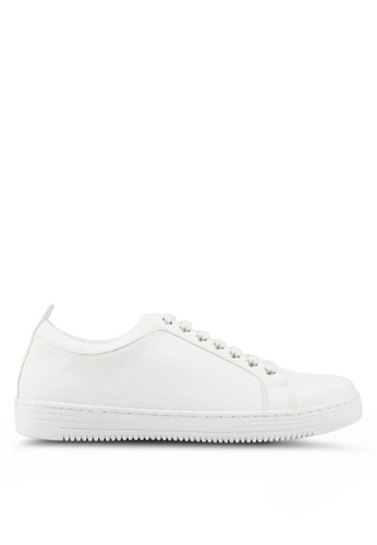 Topman white White Croc Saint Trainers A1BC6SH30B975EGS_1