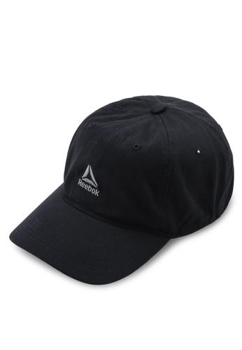 5dd57d64 Reebok black Training CoRun Essentials Active Logo Cap 12D34AC32E2EF3GS_1