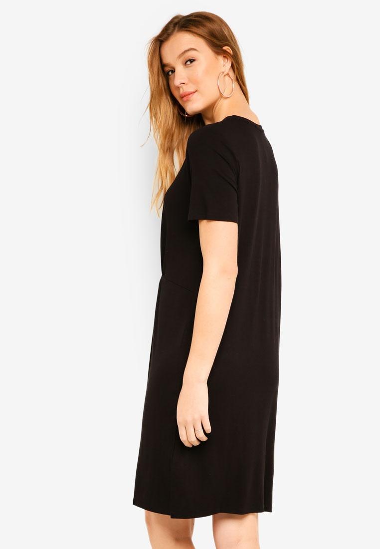 Dion Dress Dion ICHI Dress Black qqwvr