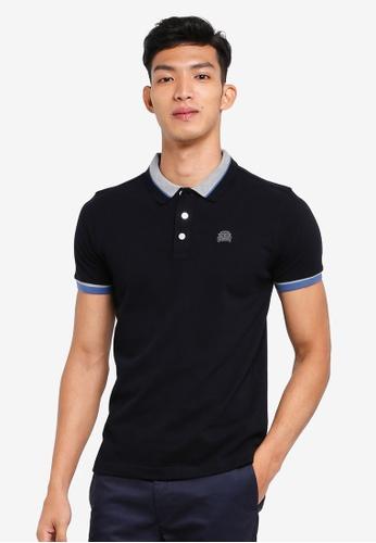 Volkswagen 黑色 短袖刺繡POLO衫 473D3AA18F4053GS_1