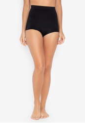 Chase Fashion black Thick Seamless High Waist Body Shaper Girdle EF874US1E680C7GS_1