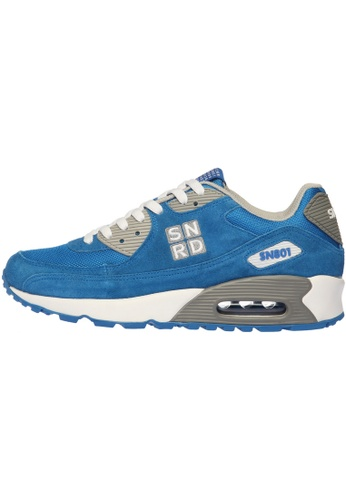 paperplanes blue SN801 Unisex Casual Air Cushion Sports Fashion Sneakers Shoes PA110SH49OZYHK_1