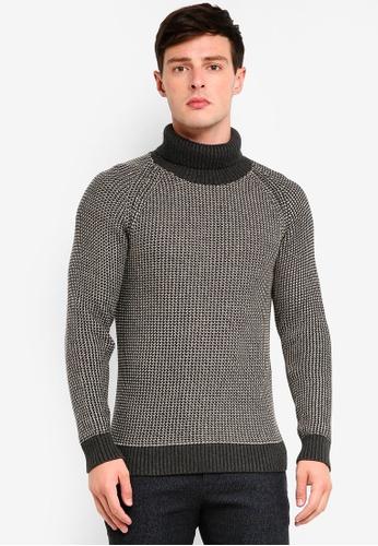 Selected Homme 米褐色 針織長袖 839F3AA1E09109GS_1