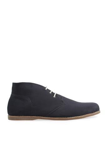 Minarno black Black Suede Boots 001 MI641SH72UTFID_1
