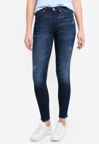 Calvin Klein blue Calvin Klein Skinny Jeans - Calvin Klein Jeans 4418FAA37E3197GS_1