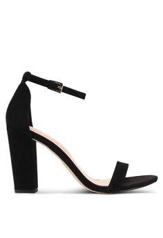 0b95d29bd84 ALDO black Myly Heeled Sandals 85EA7SH89C6129GS 1