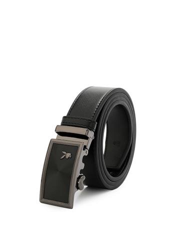 Playboy black Men's Belt - 35mm Automatic Buckle 723BCAC992C917GS_1