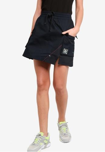 PUMA black RE.GEN Woven Women's Skirt FC357AA8834C15GS_1