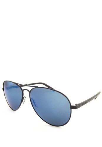 bd8e83d6028 Harley Davidson blue Harley Davidson Aviator Sunglass - 2013 - 60 - Blue  0CE0CGLC047112GS 1
