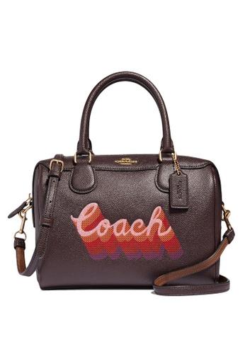 Coach red Mini Bennett Satchel Bag (cv) 8D450AC2F6275DGS_1