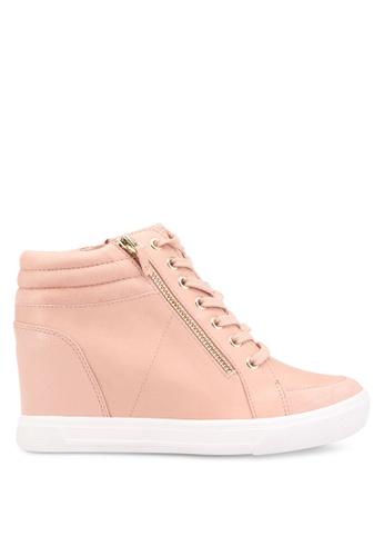 ALDO pink Kaia Wedge Sneakers AL087SH0RL99MY_1