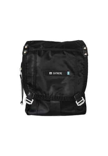 EXTREME black Extreme Tactical Sling Bag Lightweight Nylon Crossbody Black iPad 2 9A9D2AC620C5D2GS_1
