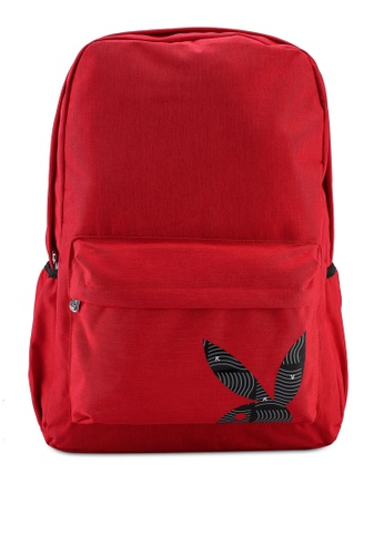 Playboy red Playboy Backpack FC849AC46717B3GS_1