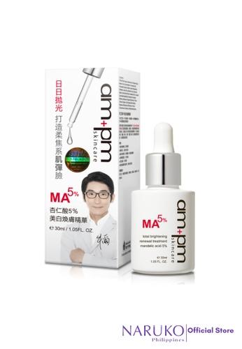 Naruko white Naruko AM+PM Total Brightening Renewal Treatment Mandelic 30ml NA951BE09ZGKPH_1