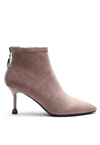 Twenty Eight Shoes Suede Fabric Heel Ankle Boots 2019-3 BB56FSH074062AGS_1