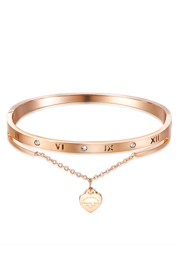 Trendyshop gold Lady's Bangle Bracelet 1C349AC3587E9FGS_1