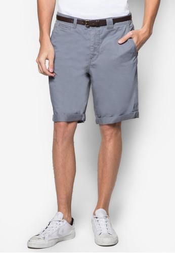 腰帶休閒尖沙咀 esprit短褲, 服飾, 短褲