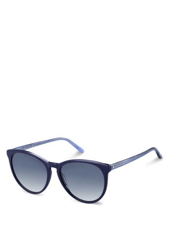 Tommy Hilfiger blue Th 1724/S Sunglasses D4E93GL22A2710GS_1