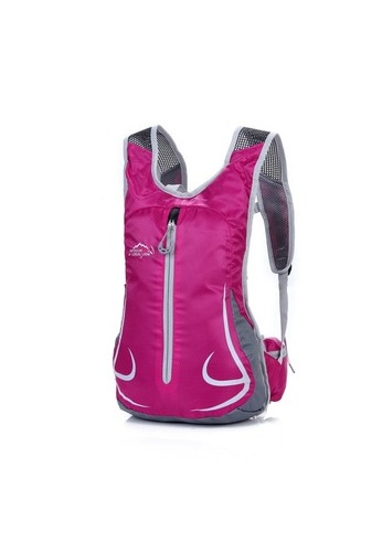 Local Lion pink Local Lion Lightweight Cycling Backpack Casual Daypack Bag 12L (Pink) LO780AC01VNAMY_1