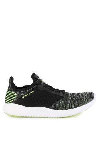 Homypro black Vince Sneakers D0C71SHA968EF7GS_1