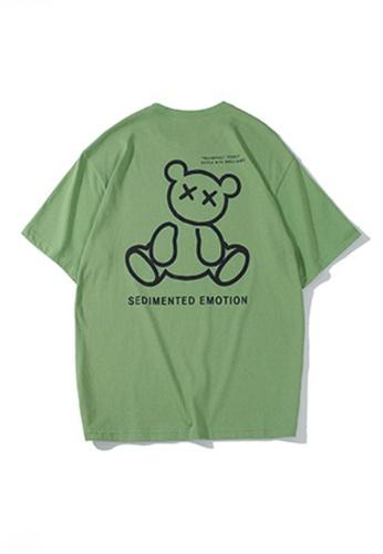 Twenty Eight Shoes green VANSA Unisex Reflective Short Sleeve T-Shirt VCU-T1001 A6F68AA14E533AGS_1